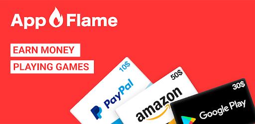 Chơi game kiếm tiền trên App Flame