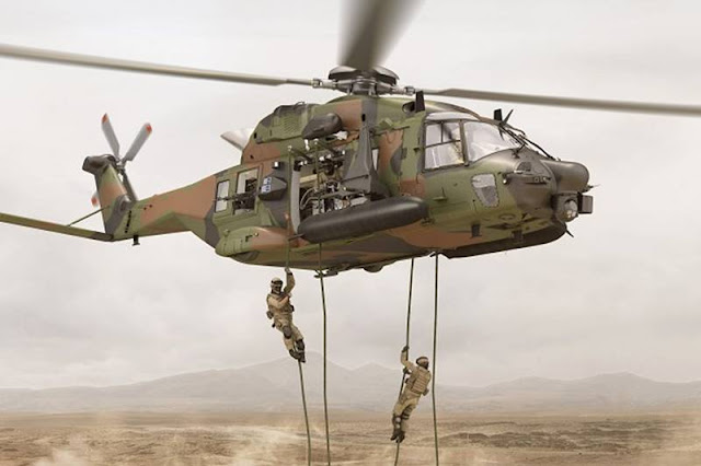 Upgraded NH90 French Special Forces