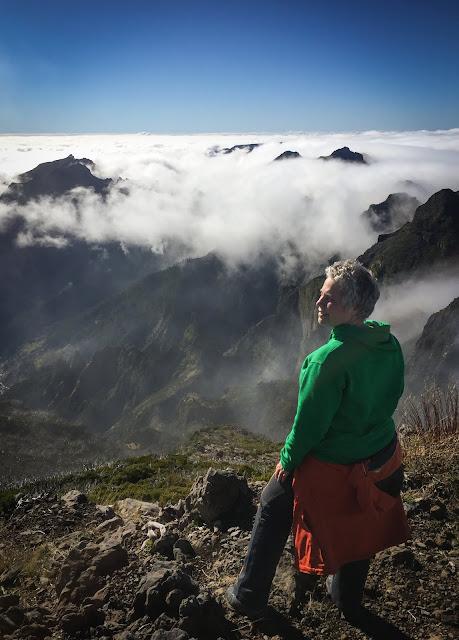 De pe Pico Ruivo, Madeira