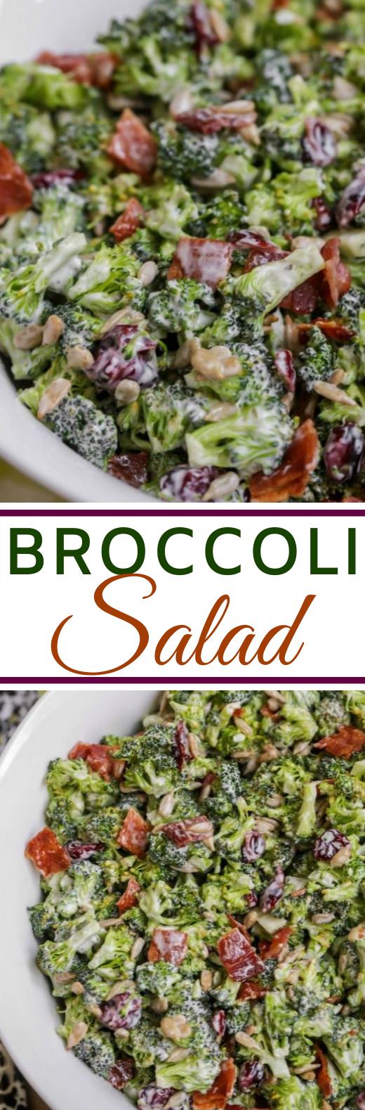 Broccoli Salad #healthy #salad #glutenfree #keto #lunch
