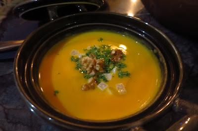 Coucou, butternut pumpkin soup
