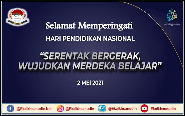 Selamat Memperingati Hari Pendidikan Nasional Tahun 2021