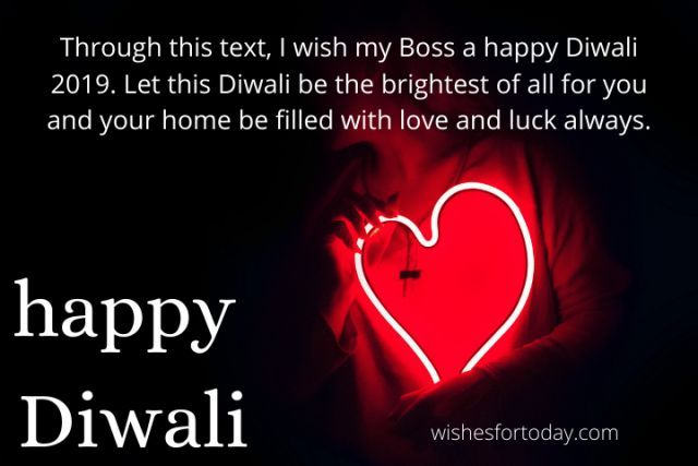 Happy Diwali Wishes & Quotes For Boss Free Download