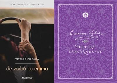 De vorbă cu Emma de Vitali Cipileagă și Fluturi sărutându-se de Carmen Sylva