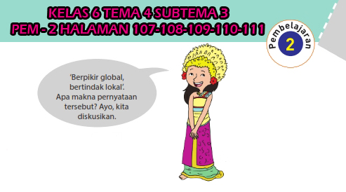 Jawaban Kelas 6 Tema 4