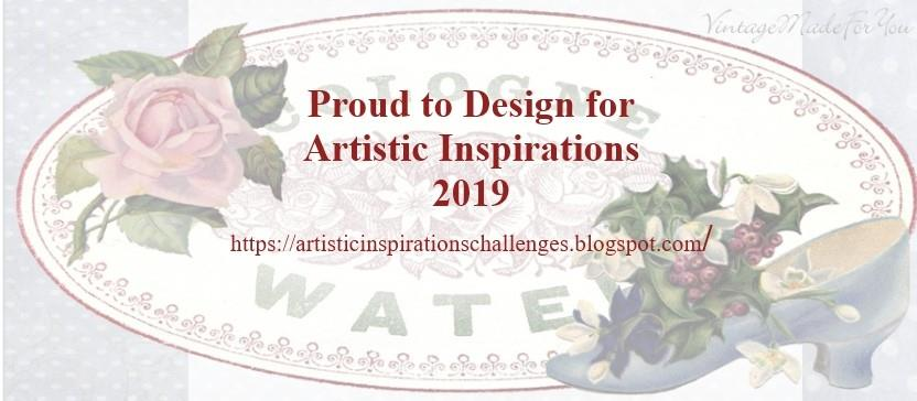 Artistic Inspirations Challenge