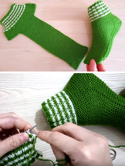 Beautiful Women's Socks - Free Knitting Pattern