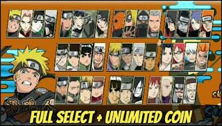 Download Naruto Senki Xros War Android Full Select Terbaru