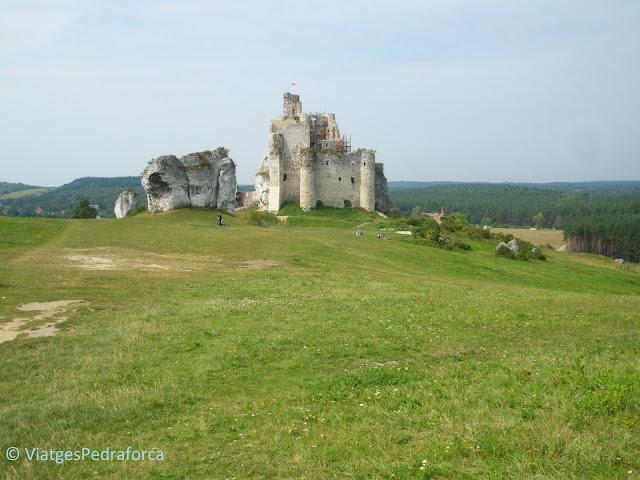 Zamek Mirów, Ruta dels Nius d'Àguila, Polònia medieval, castells medievals