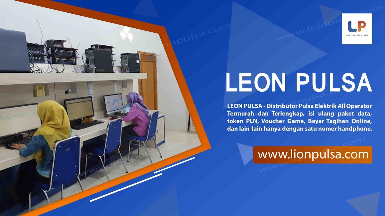 Leon Pulsa Agen Pulsa Kuota All Operator Termurah