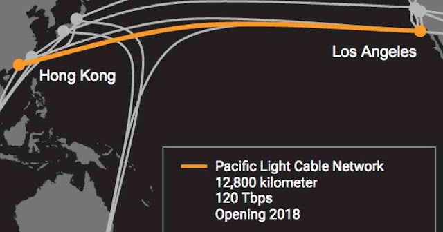 Pacific Light Cable Network to be Faster Than FASTER 1