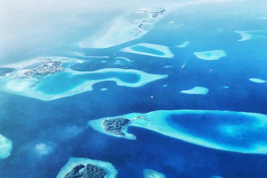 Malediven Flug tipp
