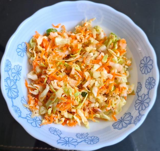 Zatpat Koshimbir / Quick Veggie Salad