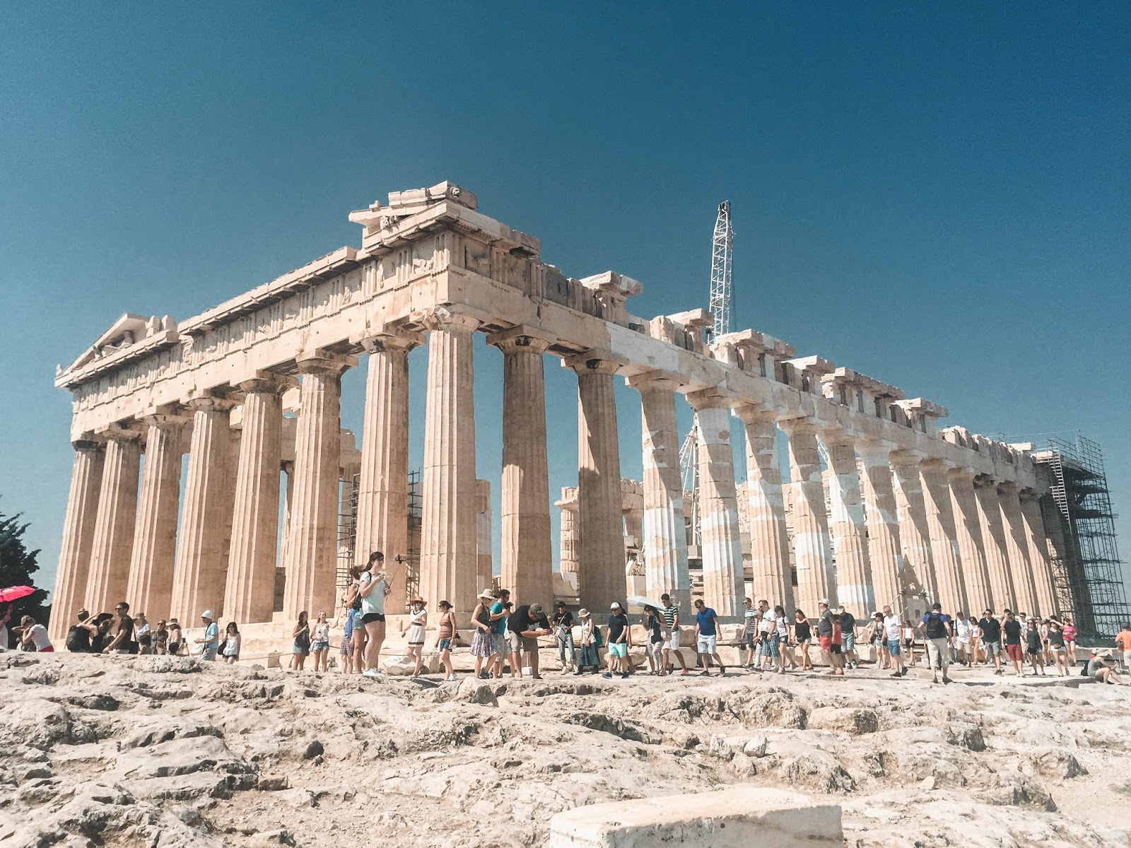 Acropolis of Athens Greece