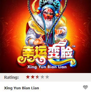 Thắng gấp 1500 lần tiền cược trong game Xing Yun Bian Lian