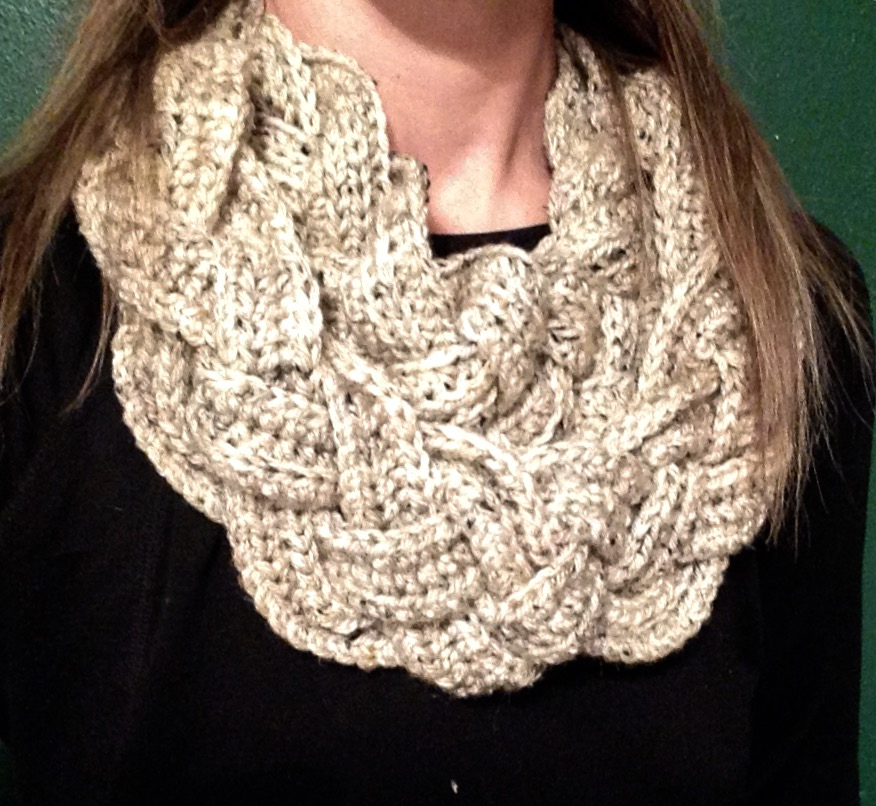 Amys Passions Double Layer Braided Cowl Crochet