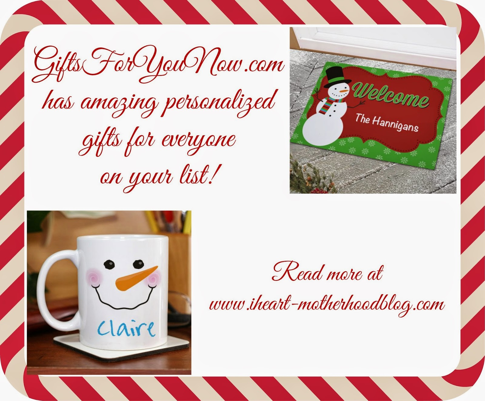 The Story Of Three: Personalized Christmas Gifts from GiftsForYouNow.com
