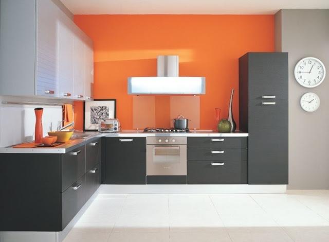 Thiết kế không gian bếp theo mệnh