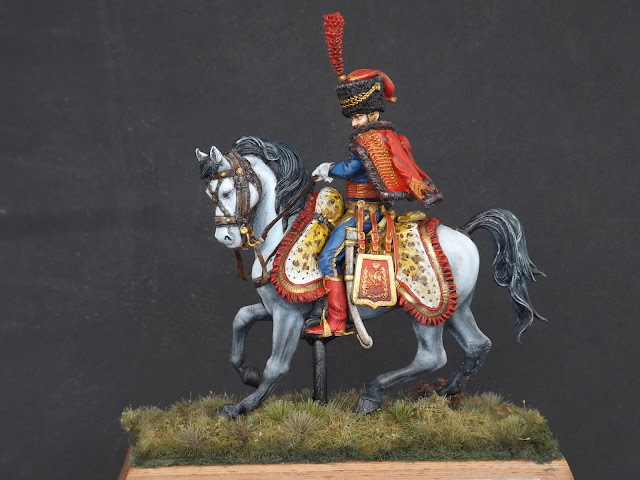 Captain of the Hussars, Elite Company 1806 - 1812 - Pegaso Miniatures 75mm 017