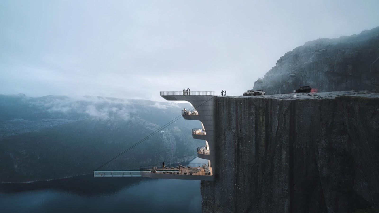 Toàn cảnh dự án khách sạn boutique có hồ bơi đáng sợ