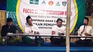 Pendeta Hendri Kaget Melihat GP Ansor Pamekasan