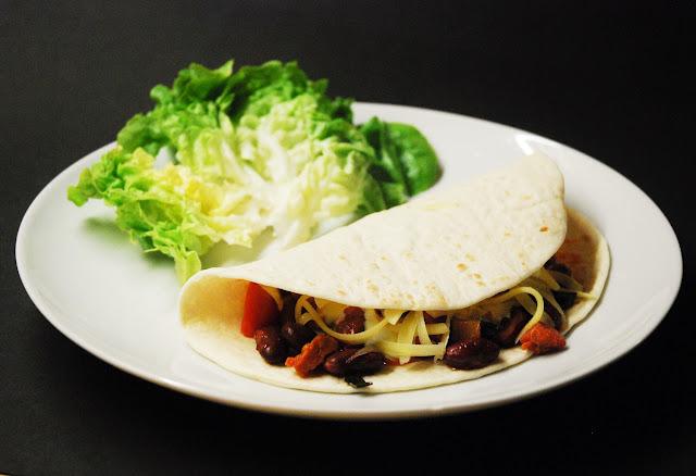 Burritos au chorizo
