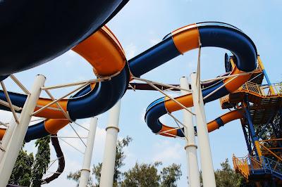 Crazy Slide di Atlantis Water Adventures