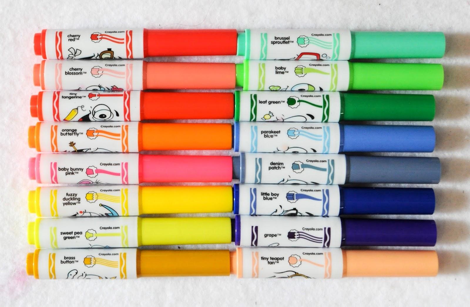 16 Count Crayola Pip Squeak Wacky Tip Markers Jennys Crayon