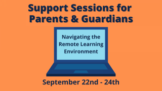 Remote Learning Support Sessions for Parents & Guardians