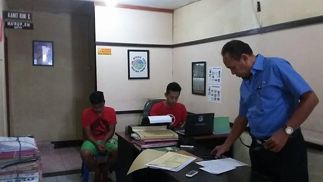Diduga Pengedar Sabu, Remaja Diringkus di Depan Kantor Samsat
