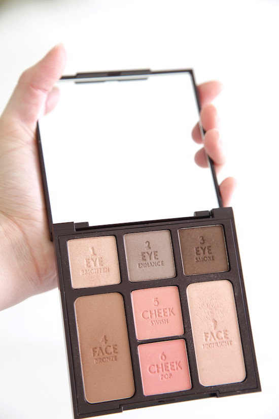 Charlotte Tilbury 'Instant Look In A Palette' review beauty blogger