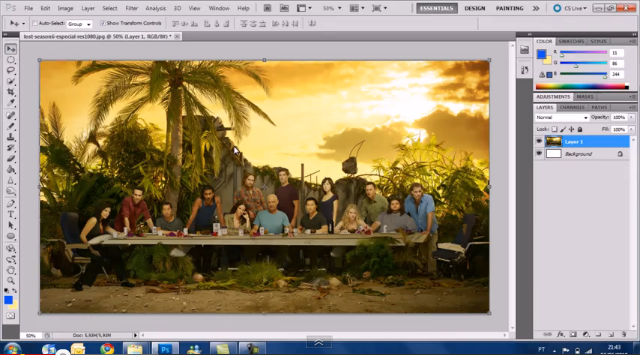 Simulate oil painting with adobe photoshop cs5 the canadian.