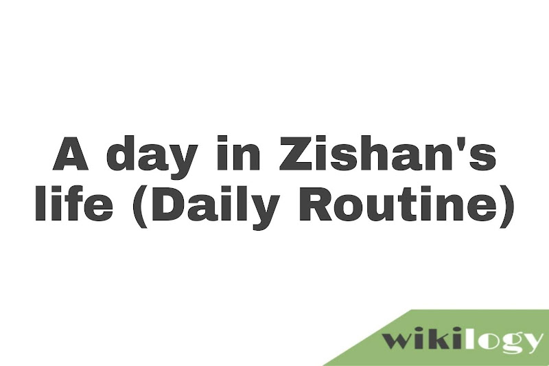 A day in Zishan's life: assignment