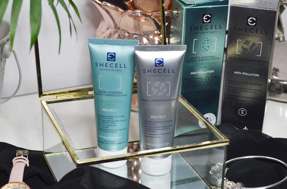 Shecell dermoaktywne kremy: do skóry z przebarwieniami oraz do skóry atopowej - pierwsze wrażenia po miesiącu używania