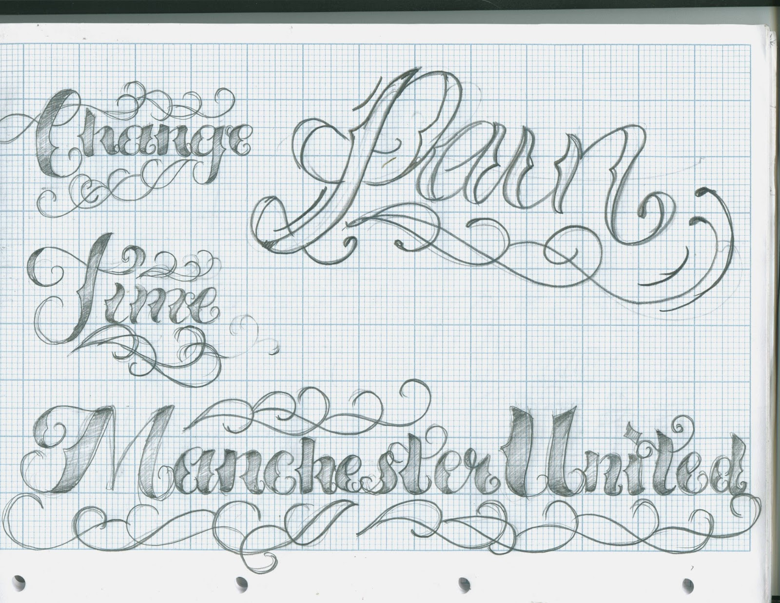 Tattoo Fonts: Tattoo Lettering Script