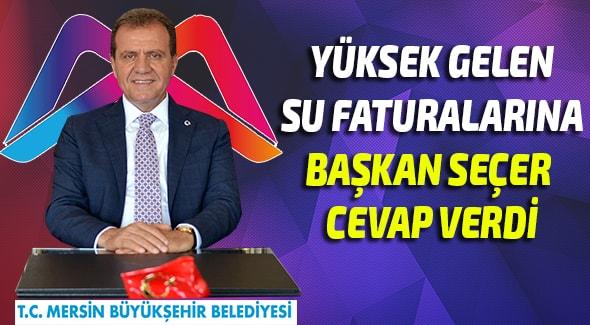 Vahap Seçer, Mersin Haber, büy, Mersin Büyük Şehir Belediyesi,