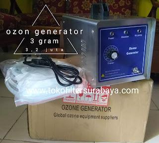 Ozon generator 3 gram di surabaya