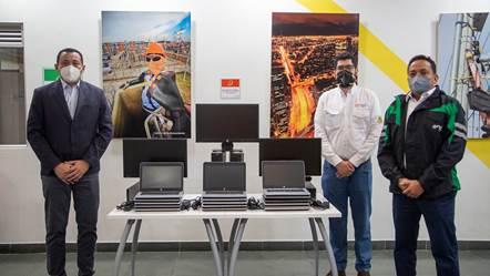 hoyennoticia.com, Enel Green Power donó 70 computadores al municipio de El Paso-Cesar