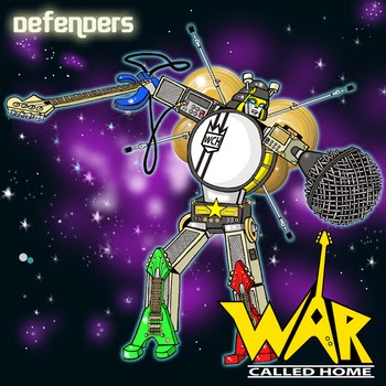 <center>War Called Home - Defenders EP (2014)</center>