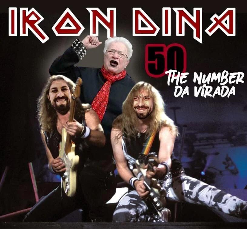 Luiza Erundina faz piada com Iron Maiden e vira 'Iron Dina' nas redes sociais