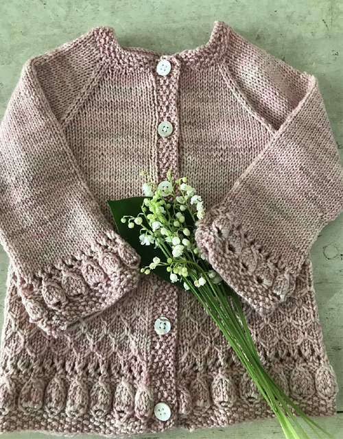 Scrap Book Cardigan - Knitting Pattern
