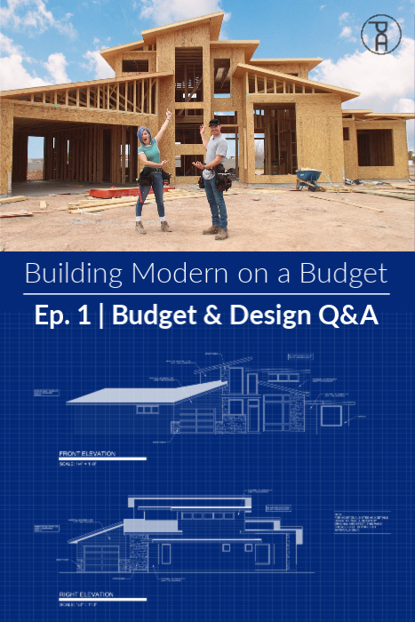 How much does it cost to DIY build a modern house on a budget contemporary build a house ourselves