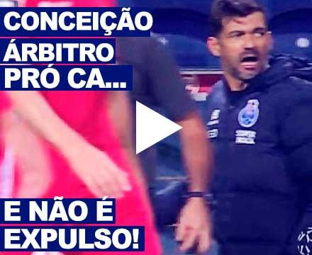 Sergio Conceicao, treinador fcp, arbitragem, Helder Malheiro, Liga NOS, 2020, video,