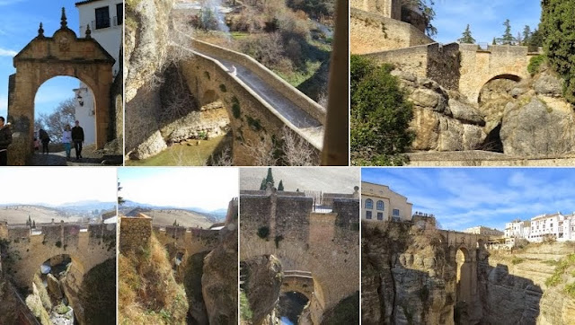 Things to do in Malaga in December: The Three Bridges of Ronda, Spain