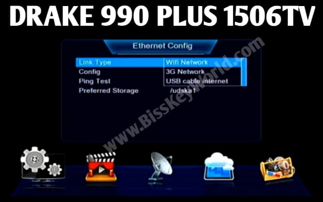 DRAKE 990 PLUS RECEIVER SPECIFICATION AND NEW SOFTWARE WITH XTREAM IPTV & ECAST OPTION