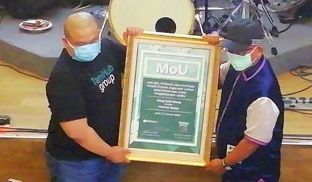 Genjot Kapasitas Produksi, Wong Solo Group Jalin Kerjasama dengan TaniHub Group