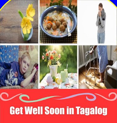 Get Well Soon Word List in Tagalog