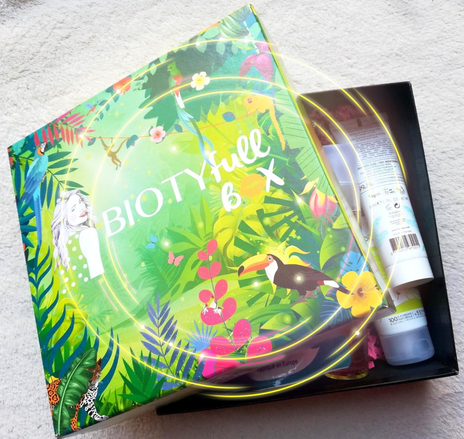 BIOTYFULL BOX Août 2019 : Routine réparatrice après soleil!