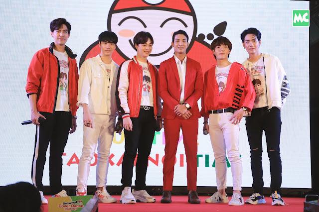 """""""သူေဌးေလး ေရညႇိ/ TaoKaeNoi"""" ႏိုင္ငံတကာ Brand Ambassador SB Five အဖြဲ႔"""