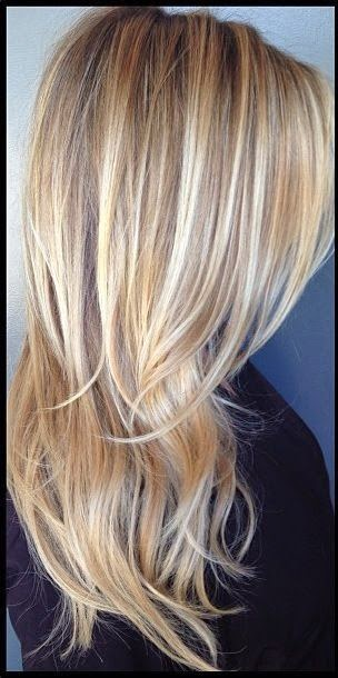 Love this! I've definitely been adding more definition in my hair just not so dark blonde but rather medium blonde :)     See more  http://www.womensandmenshairstyle.net/